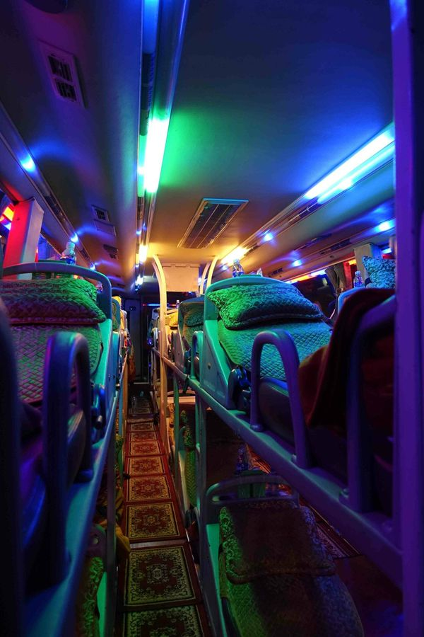 24 Hours On A Bus: Journey to Vietnam