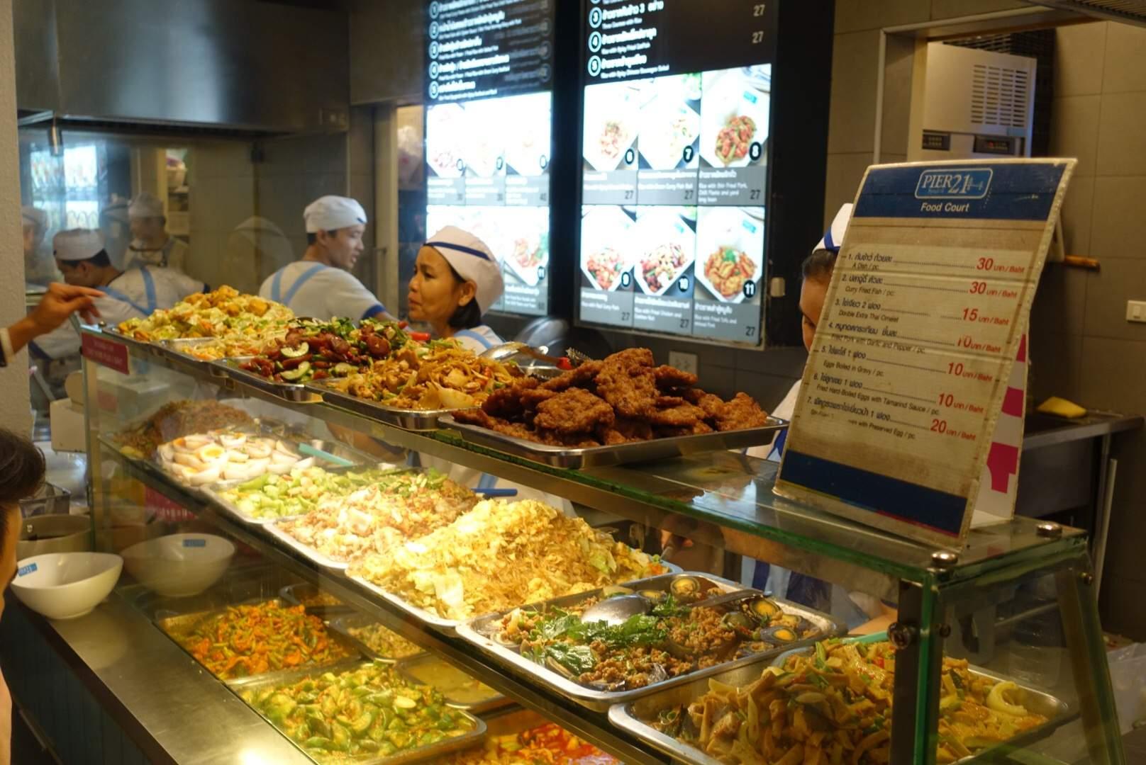Food at Terminal 21