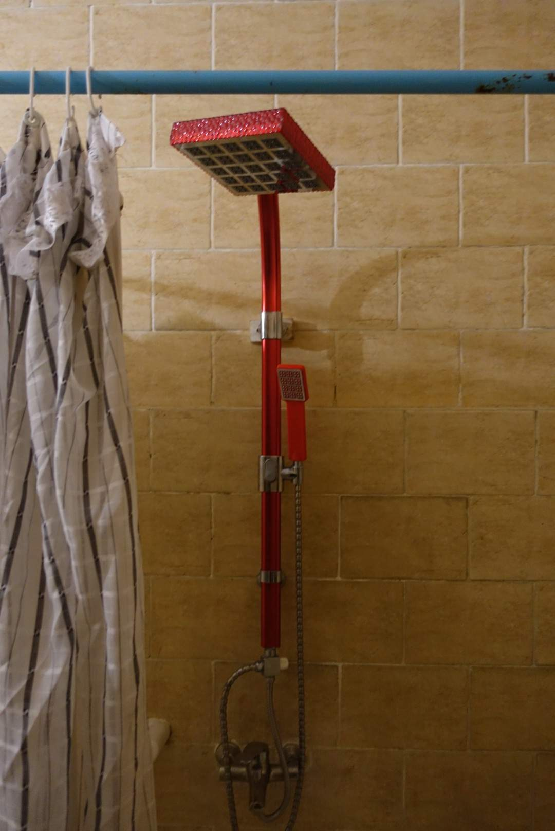 Funny shower head