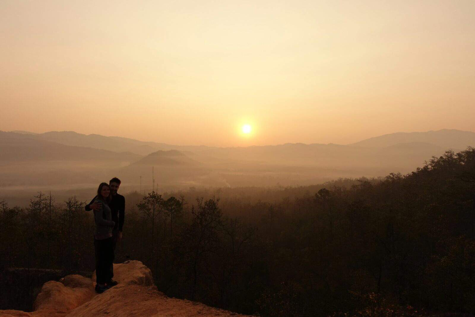 Sunrise Pai Canyon