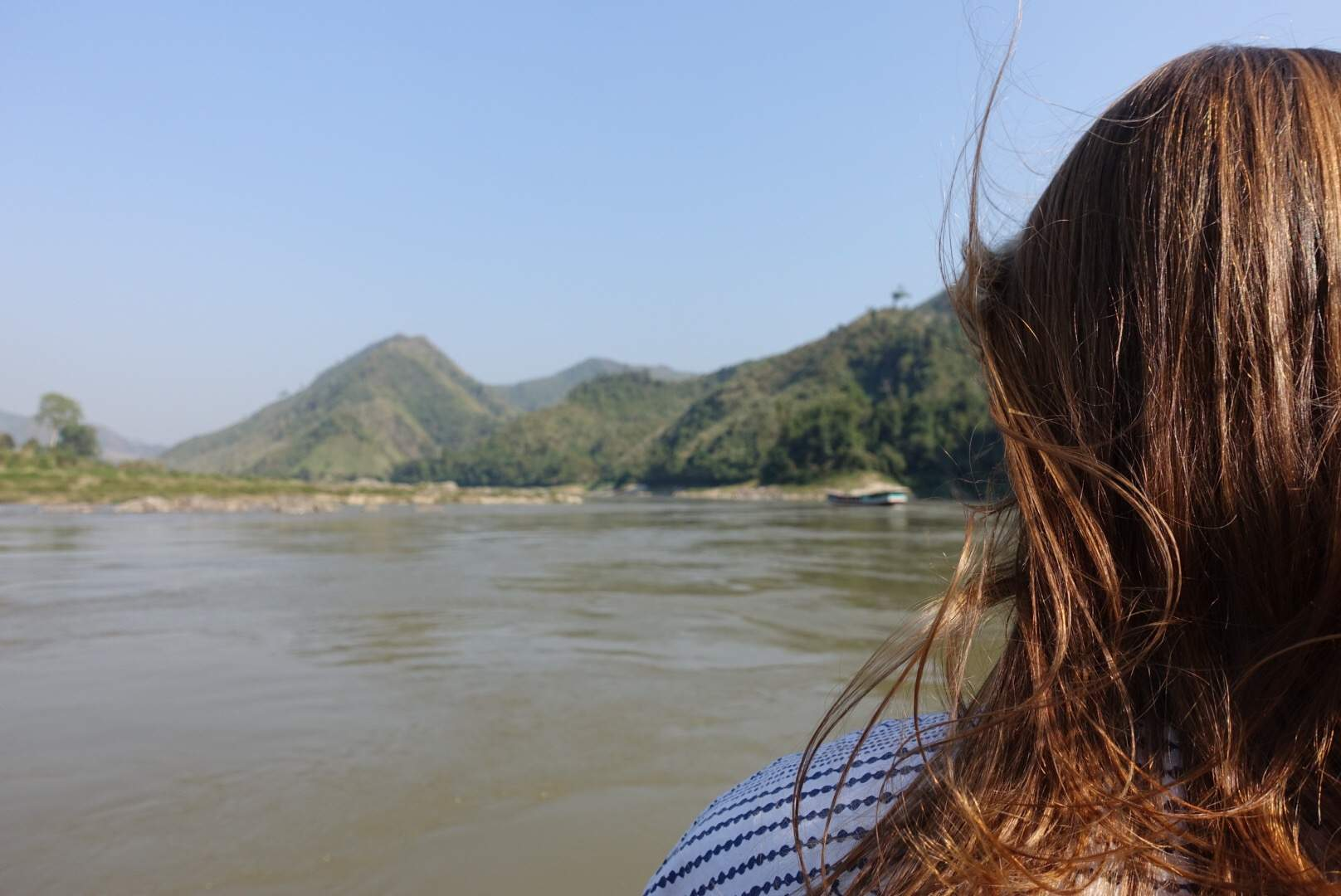 Gazing over the Mekong