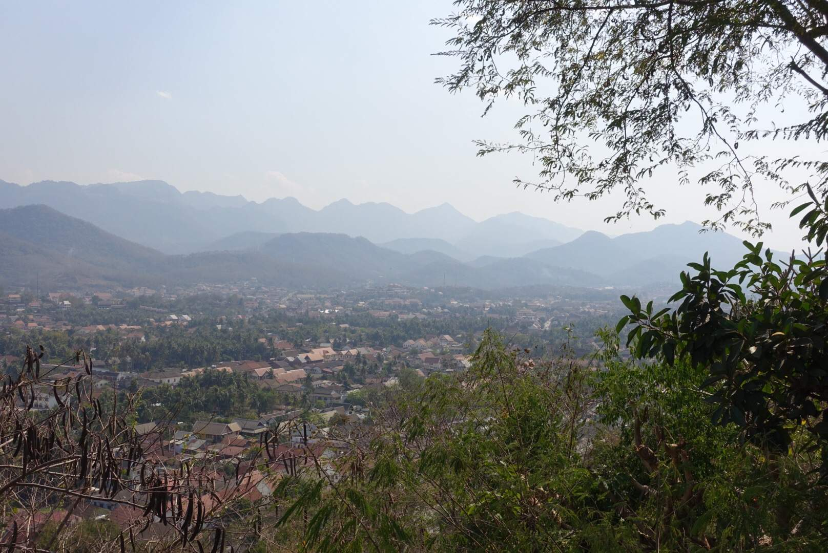Mount Phou Si view